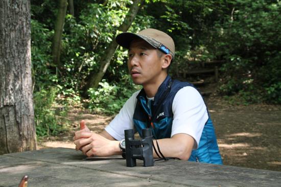 「登山客が増えるということは、高尾山の豊かな自然に触れて頂ける機会が増しているというラッキーな面でもある」