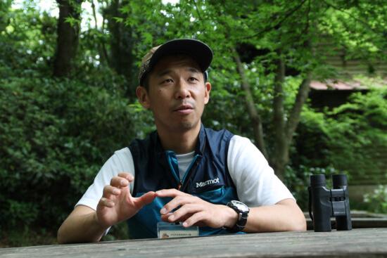 第1弾は高尾ビジターセンターで働く村上さん