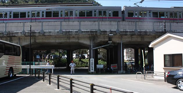 京王高架下臨時駐車場メイン写真