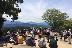 高尾山頂の写真