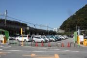 高尾山麓駐車場