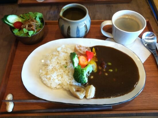 野菜カレーセット 1,250円